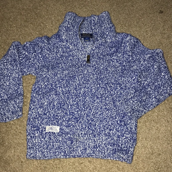 Polo by Ralph Lauren Other - Beautiful blue and white boys Ralph Lauren sweater